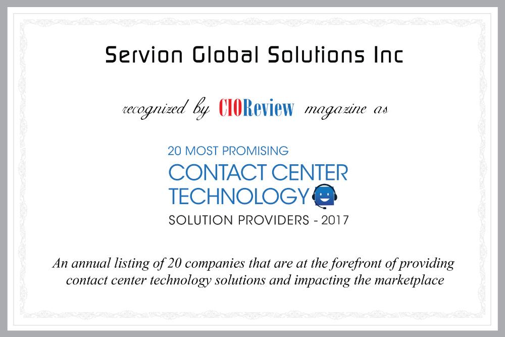 Servion_CIO_2017