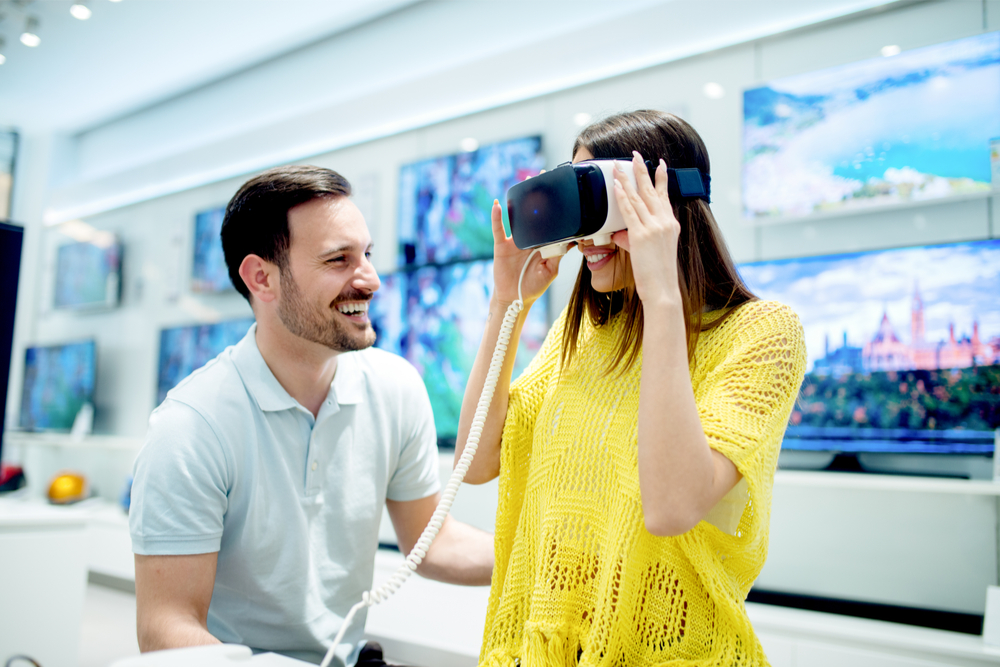 virtual reality - customer experience