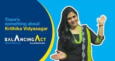Meet Krithika Vidyasagar