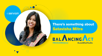 There's something about Satavisha Mitra