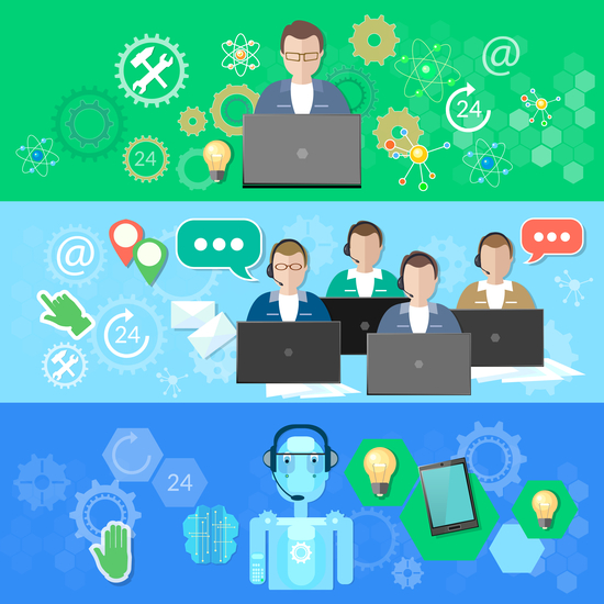 call center and call service robotic process automation