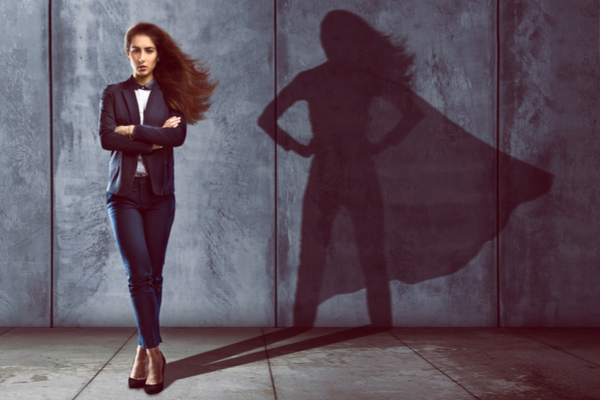 Wonder woman - Women's day