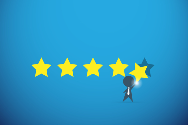 Customer feedback and rating