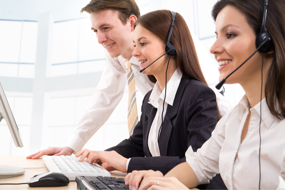 happy contact center agents