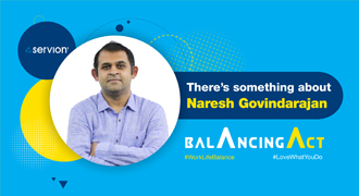 There's something about Naresh Govindarajan