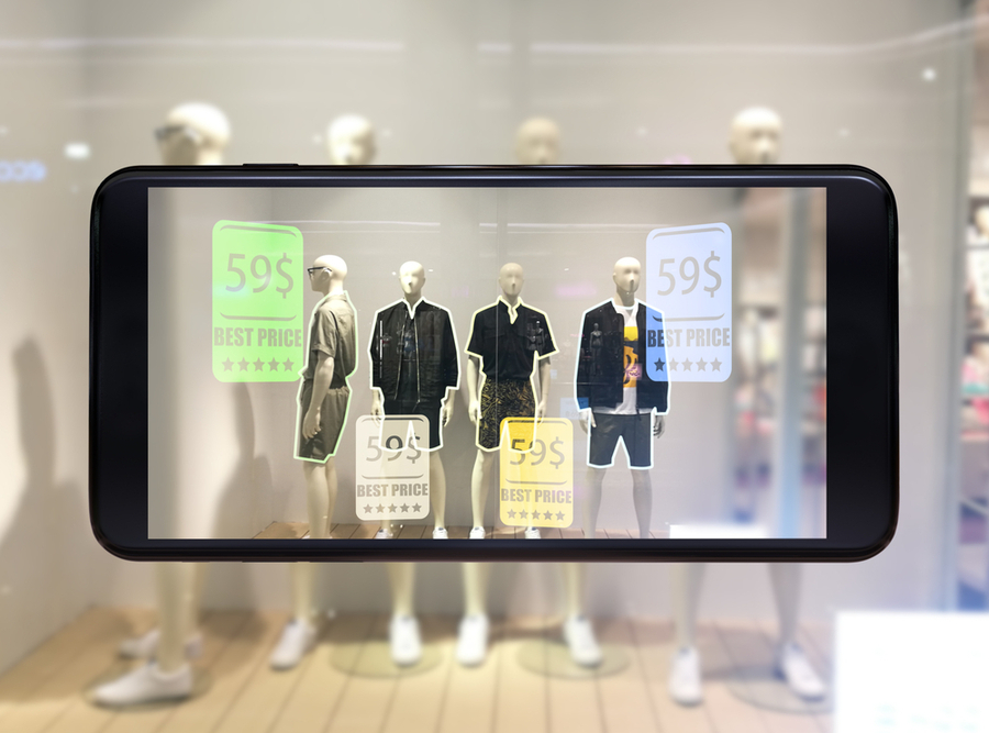 Augmented reality - Purchase point