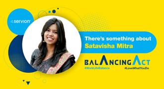 There's something about Satavisha Mitra