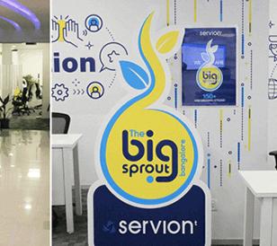 Sneak peek into the office of Servion Global Solution