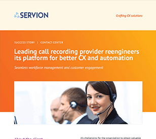 Leading call recording provider reengineers its platform for better CX and automation