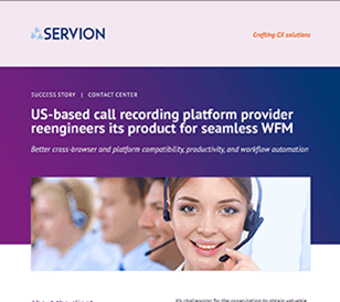 US-based call recording platform provider reengineers its product for seamless WFM