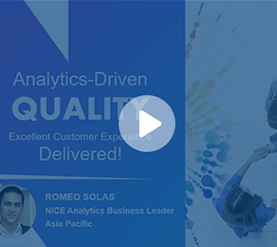 Delivering CX Excellence with Analytics-Driven Quality